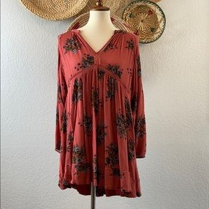 Floral Baby Doll Dress Size Small